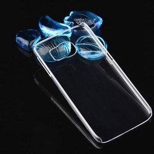 لفون XS XR 8 Crystal Clear شفاف PC Hard Plastic Sheild كفر حافظة سامسونج Galaxy S7 S8 Plus نحيف نحيف غطاء ل iPhone 7 6s