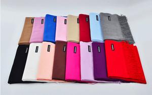 30 PCS outono inverno mulher de alta qualidade lã fiação cachecol senhoras purl cor manter o cachecol quente 200 * 65 cm 14 cores frete grátis