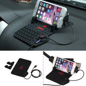 Original REMAX 180x110mm DIY Silicon Car Holder Mount Stand Charging Cradle Non Slip Mat Pad hot selling