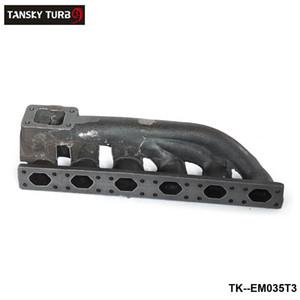 Tansky - neuer T3-Turbo-Flansch 38mm Wastegate-Flansch-Eisenguss-Verteiler für BMW E36 / E46 TK-EM035T3