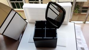Box di trucco acrilico del supporto cosmetico all'ingrosso grande strumenti di trucco della spazzatura del trucco della spazzola del trucco scatola di stoccaggio del desktop con il contenitore di regalo per il regalo di nozze
