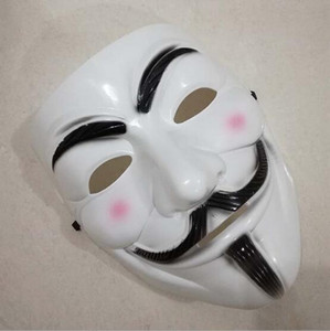 V wie Vendetta Halloween Maske Weihnachten Kostüm Party Cosplay Halloween Party Guy Fawkes anonyme Erwachsene Party Maske Dekorationen