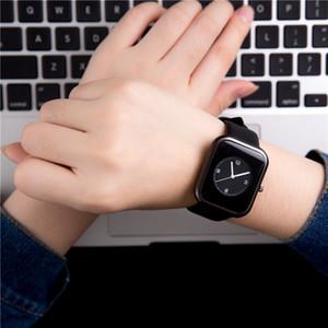 Fashion Simple Students retro rectangle small temperament fresh watch Ultra Thin dial Casual Male Quartz Clock girl Watch Wristwatch Gift