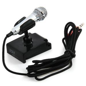 Mini Kondensatormikrofon Karaoke Sprachaufnahme Handy Computer singen Miniatur Mikrofon Mikrofon für Smartphones Laptops