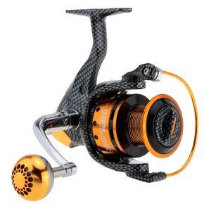 Sea Fishing Reel 12 + 1BB 5,2: 1 TT2000 / 3000/4000/5000/6000 Правая Левая рука взаимозаменяемы Spinning Reel Front Drag Wheel