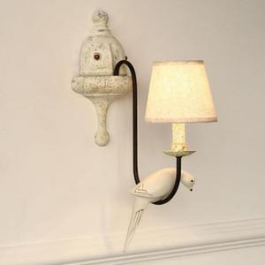 Amerikanischen Esszimmer Schlafzimmer Wandleuchte Nachttischlampe Lichttechnik Studie Club Pastoral minimalistischen skandinavischen Vogel Wandleuchte