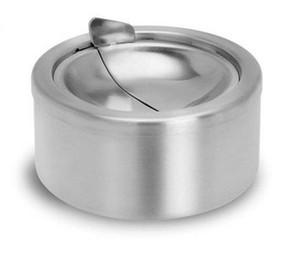 Wholesale-CNIM Hot Cendrier Couvercle Articulé Ascher Hauteur 5,5 cm Diamètre: 12 cm