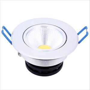 옥수수 속 LED 통 3W 5w 크리 어 Dimmable Recessed Down Light 스페인 스타일 침실 LED 램프 + 운전자 보증 3 년 무료 배송