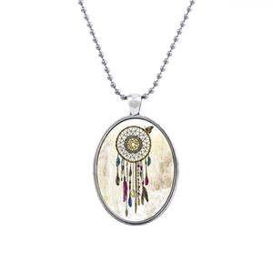 CP1601086 Fashion Jewelry Hight Quality Glass Necklace Sets For Women Jewelry Unique dream catcher Design Party Gift