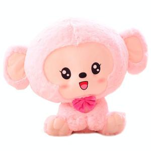 Lovely Monkey Plush Мягкая игрушка-подушка для лучшего подарка на день рождения Мягкие подушки для домашнего декора