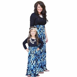 Kids Girls Mother and Daughter Summer Family Dress Skirts