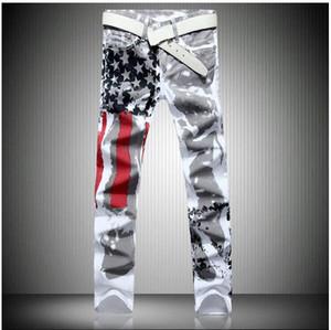 Mode en gros chaud mens Designer Jeans hommes robin jeans Célèbre marque Denim avec Ailes Drapeau Américain Livraison Gratuite