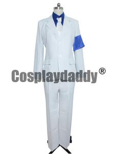 Michael Jackson Lisa Criminal Branco Terno Traje Cosplay