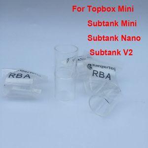 Remplacement du tube en verre Pyrex pour tube de verre sous-cuve en vrac de tube de verre sous-cuve mini triton griffon ecta