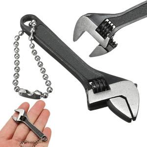 66mm 2.6inch Mini metallo regolabile chiave inglese chiave inglese 0-10mm chiave della mascella nera