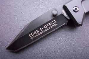 익스트림 힘 받침-II-T. 57-58HRC 야생 선물 칼 무료 배송 1 개를 사냥 6061-T6 알루미늄 캠핑 핸들을 방부 처리 (T 4 %를 머리)