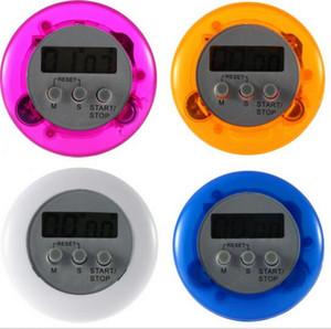 Hochwertige Multi Kunststoff Küche Timer Runde elektronische Timer Küche Countdown Timer Alarm zufällige Farbe Küche Timer