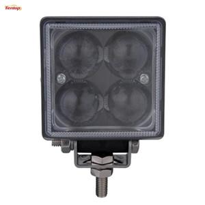 3 Inch BRIDEGELUX 12W LED Work Front Bumper Light 4D Lens For Truck Car BUS 12V 24V