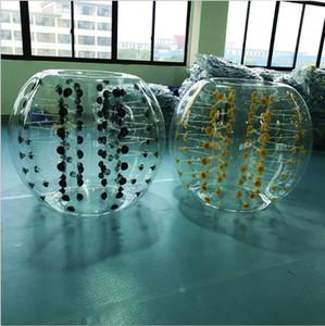 Aufblasbarer menschlicher Hamster-Ball Zorb-Bälle Loopy Ballon-Blasen-Fußball mit 1m 1.2m 1.4m 1.5m