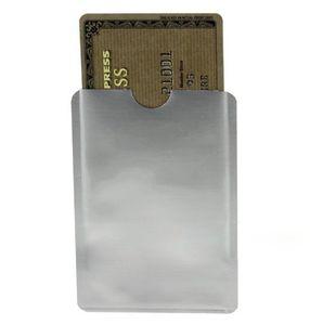 Sichere ID IC Kreditkarte RFID Blockierung Magnetische Ärmel Anti-Diebstahl-Anti-Scan-ATM Debit Kontaktlose Karte Schützen Sie Umschlag Zurück zur College-Liste