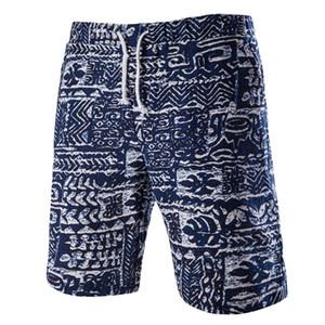 Wholesale-HOT Brand Bermuda Surf Board Shorts Men Board Shorts Casual Beach Casual Men Shorts Printed Character Beach Pants ALV140