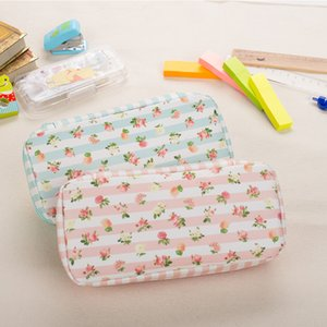 Schools & Offices Case Pencil Bag New Arrival Romantic Case Double Layer Waterproof Pencil Bag