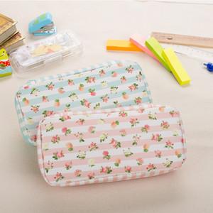 Schools & Offices Case Pencil Bag New Arrival Romantic Case Double Layer Waterproof Pencil Bag