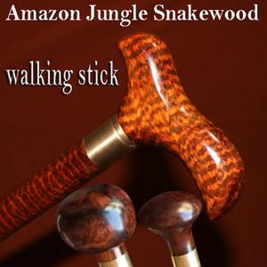 Woodcraft trekking caminhadas dicas caminhadas qualidade da cana Knob substituível Authentic bengala naturais Snakewood para o presente homem avô