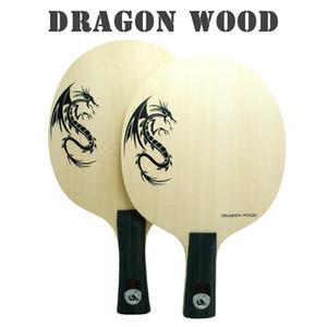 Atacado-NOVA CHEGADA XVT DRAGON WOOD ALL + Lâmina De Tênis De Mesa / Raquete De Tênis De Mesa / tênis de mesa bat Frete Grátis