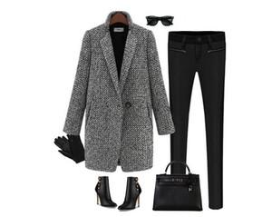 Novas roupas femininas de alta qualidade pano espessamento casaco de mangas compridas cultivar moralidade outono inverno casaco de pó roupas presentes 1 pcs