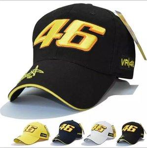 Звезда Росси Подпись VR46 Digital Вышивка бейсболке мотоциклов Hat Cap Гонки Спорт бейсболке