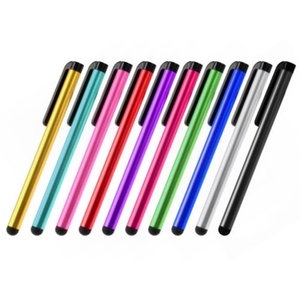 2016 Evrensel Kapasitif Stylus Kalem Iphone5 5 S Dokunmatik Kalem Cep Telefonu Tablet Için Farklı Renkler Için