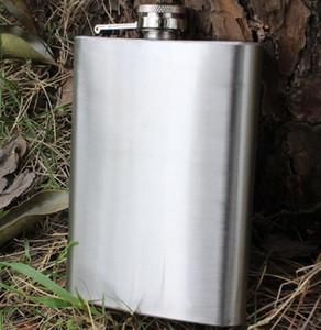 Whisky 8 once (225ml) tasca dell'acciaio inossidabile Hip Flask Gin alcolica Vino Wedding Party Bar Drink bottiglia del liquore