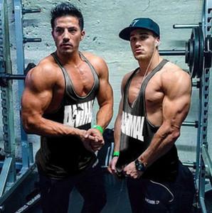 Homem de Alta Qualidade Regata Muscle Bodybuilding Gym Tee Venda Quente Camisa De Algodão