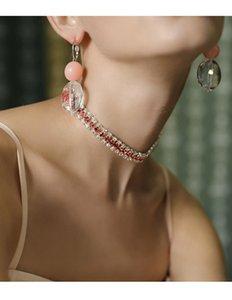 2017 새로운 다이아몬드 초커 목걸이, 목걸이 한국 칼라 쇄골 목걸이 짧은 섹션 간단한 목 보석 쥬얼리 체인