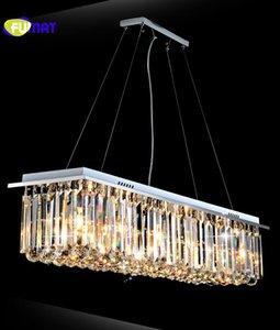Retângulo K9 Luzes Pingente De Cristal Moderna Personalidade Criativa Suspensão Lightings Sala de estar Art Deco Light