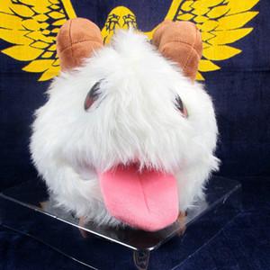 """Anime dos desenhos animados League of Legends LOL Pelúcia 9"""" envio Poro Coelho 23CM suave Stuffed Dolls gratuito"""