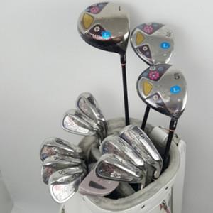 Yeni kulüpleri Golf kulüpleri Maruman FL Golf komple set womens sürücü + Kaçak odun + ütü + golf sopası Grafit Golf Atış paketlerini şaft