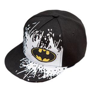 2017 nuovi cappelli di Snapback Gorras unisex bambini Snapback hip-hop Batman Cap bambini cappelli regolabili 4 colori