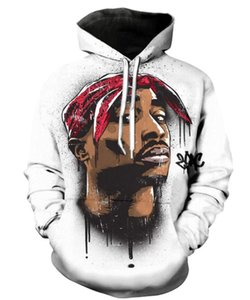 Neue Mode Paare Männer Frauen Unisex Legende Rapper 2pac tupac 3D Print Hoodies Pullover Sweatshirt Jacke Pullover Top S-5XL T50