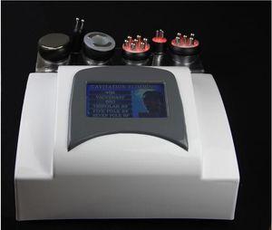 المحمولة 6in1 40K بالموجات فوق الصوتية التجويف الجسم النحت التخسيس فراغ RF BIO الجلد وطيد شد الجسم بشرة الجسم SALON آلة