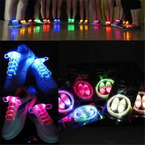 Vnfire A Pair of LED Shoelaces Light up Shoe Laces with Continuous and 2 Blinking Modes for Party Disco Dancing Hip-hop Skating Running Sixt