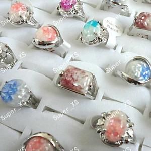 Мода ушка сплава оболочки женщин посеребренные кольца новые оптовые много ювелирных изделий кольцо LR100 Бесплатная доставка