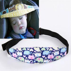 Car Safety Seat Sleep Positioner Infants Baby Head Support Pram Stroller Car-Styling Fastening Belt Tools Adjustable