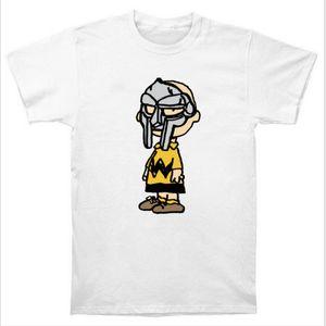 Wholesale-Charlie Doom Charlie Brown MF DOOM  Madlib Madvillain Hip Hop Rap T Shirt