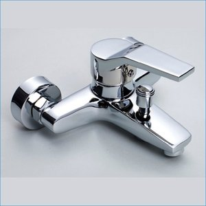Rubinetti doccia a muro vasca da bagno, miscelatori vasca da bagno rubinetti, rubinetto caldo e freddo, spedizione gratuita J14840