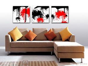 Moderne Fine Peinture Abstraite Impression Giclée Sur Toile Mur Art Décoration de La Maison Set30227