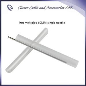 Sıcak Satış ve Ücretsiz Kargo 100 ADET optik fiber daralan tüp 60mm fiber kablo ile sıcak eriyik boru tek iğne