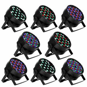 54X3W LED 무대 조명 DMX 512 제어 LED DJ 파 PAR 빛 RGBW 무대 조명 프로젝터 파티 DJ KTV 바 스테이지 클럽