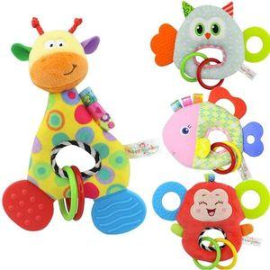 New Giraffe Monkey Owl Pesce Animale Bambola di pezza Morbido Peluche Giocattolo Baby Infant Toy Soft Doll